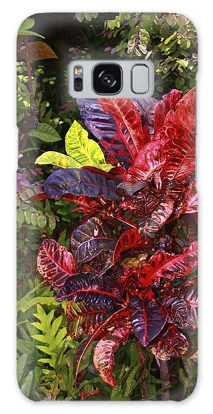 Brilliant Colors Of Leaves Galaxy Case