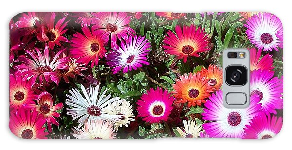 Brilliant Flowers Galaxy Case by Chalet Roome-Rigdon