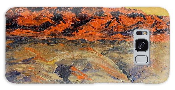 Brilliant Montana Mountains And Foothills Galaxy Case
