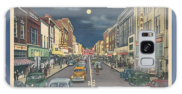 Bristol At Night In The 1940's Galaxy Case