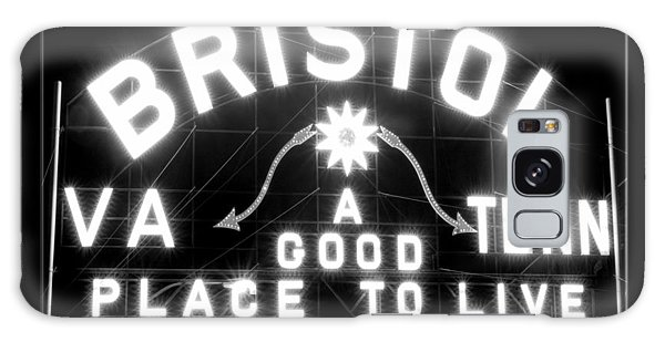 Bristol Virginia Tennesse Slogan Sign Galaxy Case