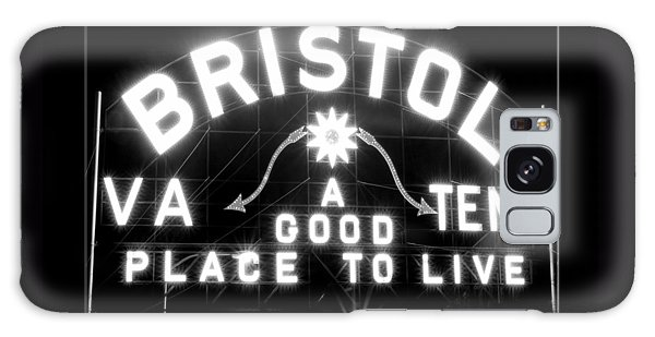 Bristol Virginia Tennesse Slogan Sign Galaxy Case