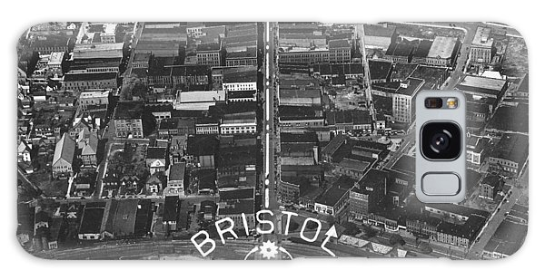 Bristol Virginia Tennessee Early Aerial Photo Galaxy Case