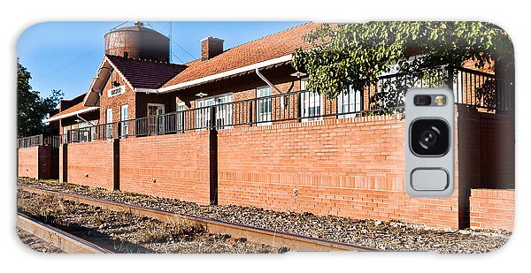 Bristow Oklahoma Train Depot Galaxy Case by Lawrence Burry