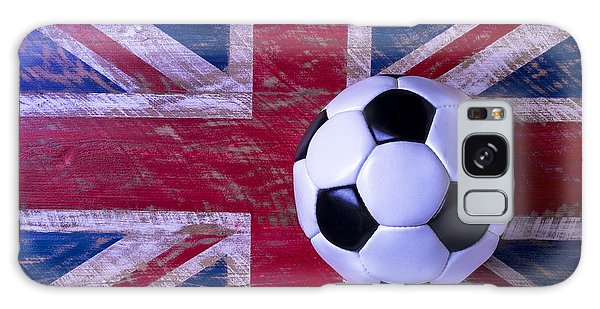 British Flag And Soccer Ball Galaxy Case