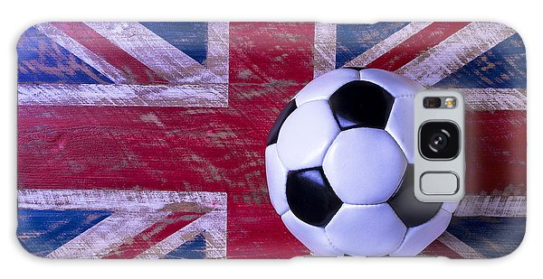 British Flag And Soccer Ball Galaxy S8 Case