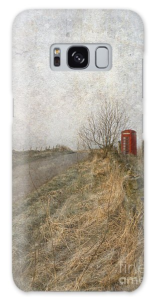 British Phone Box Galaxy Case by Liz  Alderdice