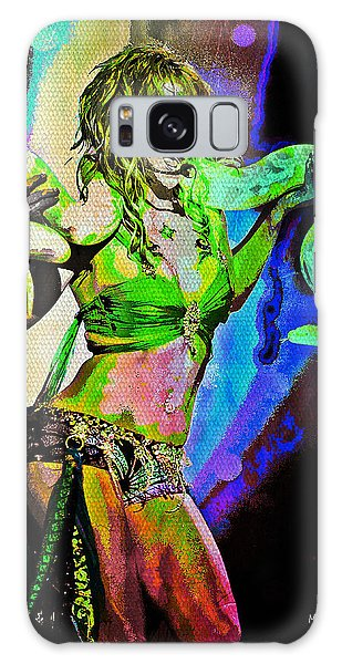 Britney Neon Dancer Galaxy Case by Absinthe Art By Michelle LeAnn Scott