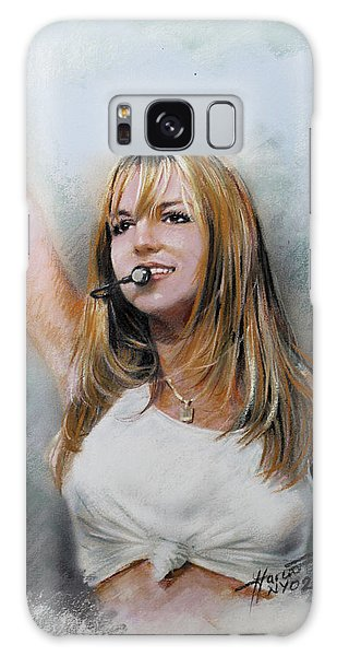 Britney Spears Galaxy Case by Viola El