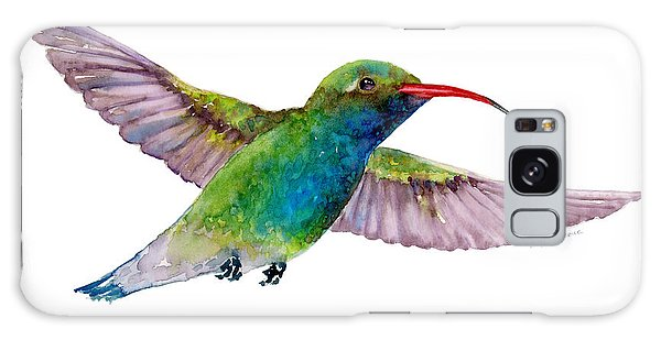 Broad Billed Hummingbird Galaxy Case