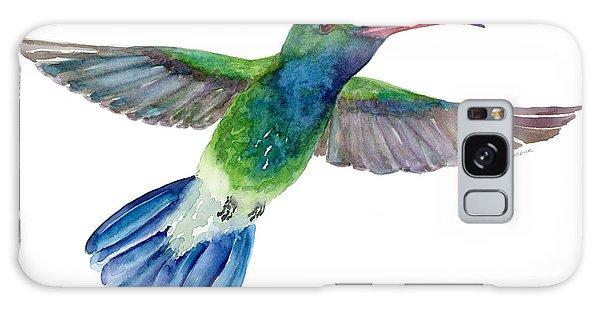 Broadbilled Fan Tail Hummingbird Galaxy Case