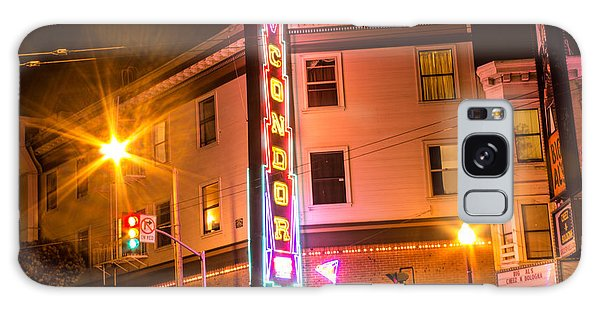 Broadway At Night Galaxy Case by Suzanne Luft