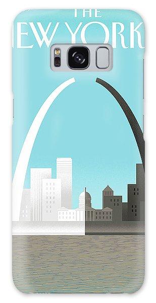 Broken Arch. A Scene From St. Louis Galaxy S8 Case