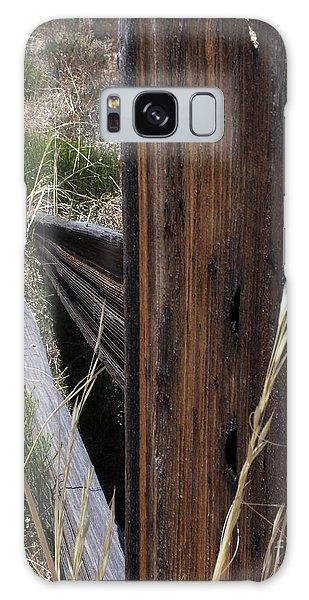Broken Fence Line Galaxy Case