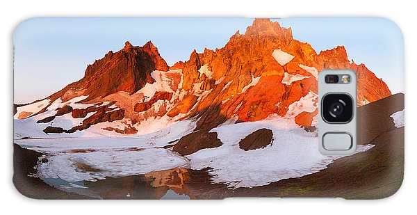 Broken Top Mt. Sunrise Galaxy Case