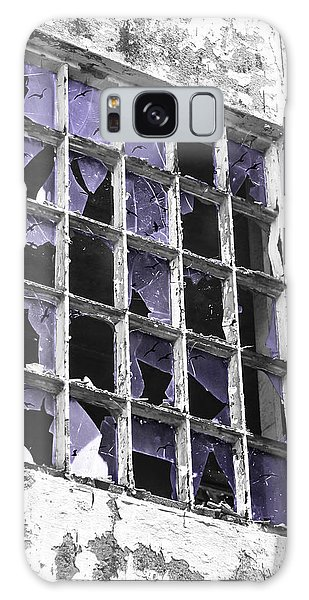 Broken Windows With Birds Galaxy Case