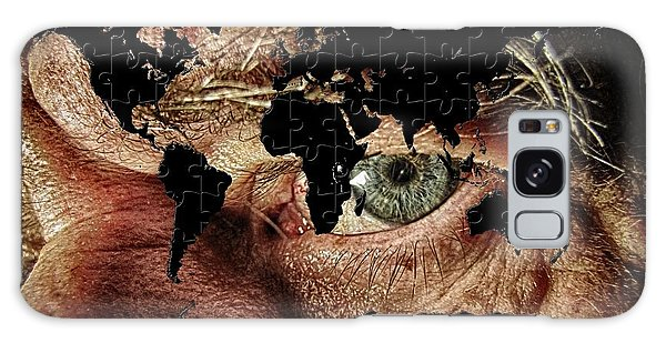 Broken World Puzzle Galaxy Case by Maciek Froncisz