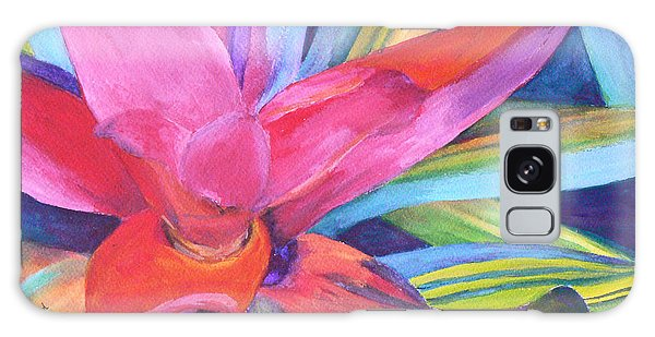 Bromeliad Pink Galaxy Case by Margaret Saheed