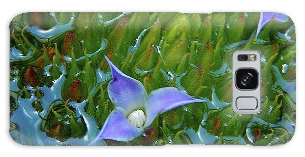 Bromeliad Pond Galaxy Case