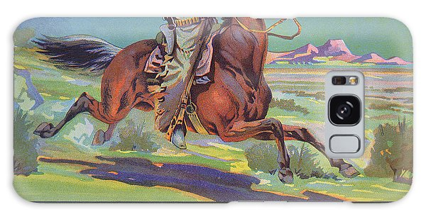 Horse Galaxy Case - Bronco Oranges by American School