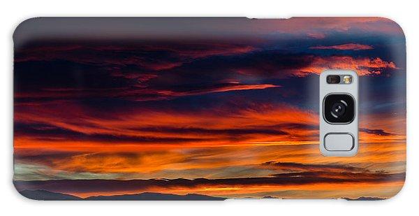 Bronco Sunset Galaxy Case