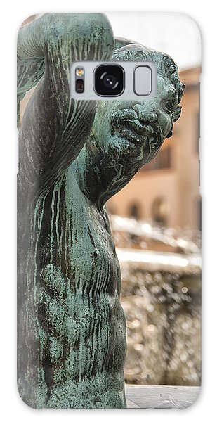 Bronze Satyr In The Statue Of Neptune Galaxy Case