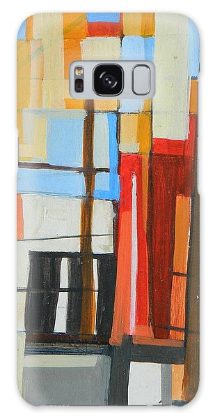 Brooklyn Abstract Galaxy Case by Ron Erickson