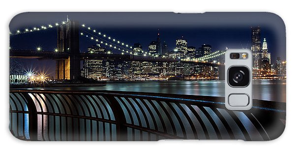 Brooklyn Bridge At Night Galaxy Case