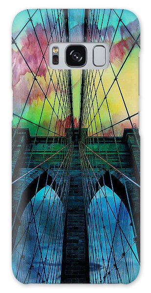 City Scenes Galaxy S8 Case - Psychedelic Skies by Az Jackson