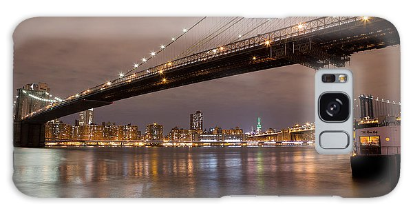 Brooklyn Bridge Lights Galaxy Case