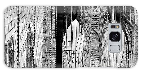 Brooklyn Bridge New York City Usa Galaxy Case by Sabine Jacobs