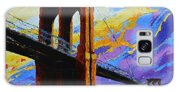 Brooklyn Bridge New York Landmark Galaxy Case