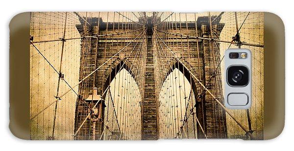 Brooklyn Bridge Nostalgia Galaxy Case by Jessica Jenney