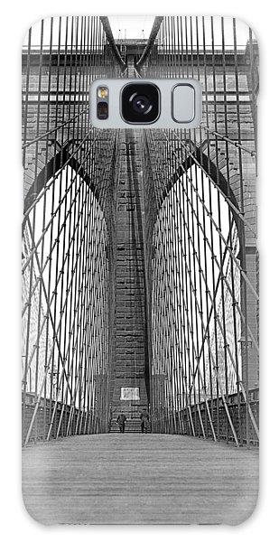 Brooklyn Bridge Promenade Galaxy Case
