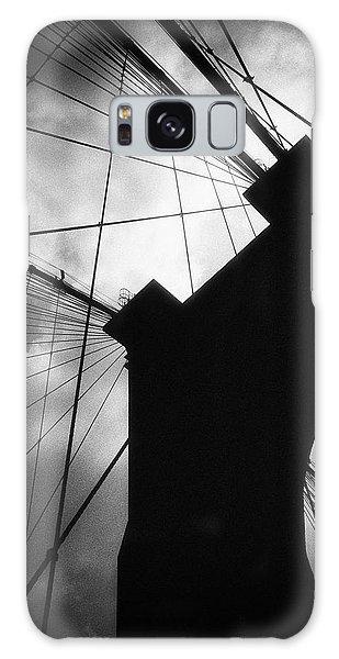 Brooklyn Bridge Silhouette Galaxy Case