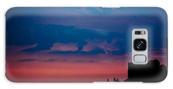 Brooklyn Bridge Sunrise Galaxy Case by Sara Frank