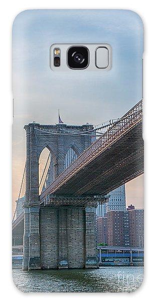 Brooklyn Bridge Sunset Galaxy Case