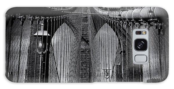 Brooklyn Bridge Up Close New York City Galaxy Case