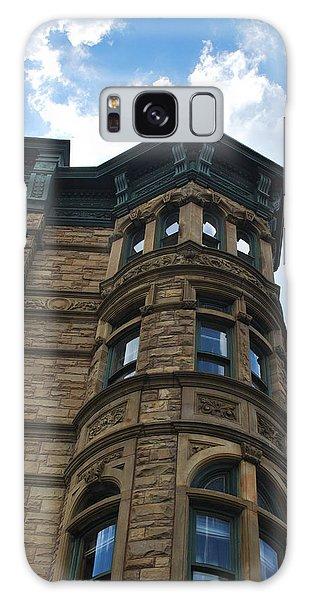 Brooklyn Brownstone Blue Sky Galaxy Case