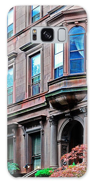 Brooklyn Heights - Nyc - Classic Building And Bike Galaxy Case