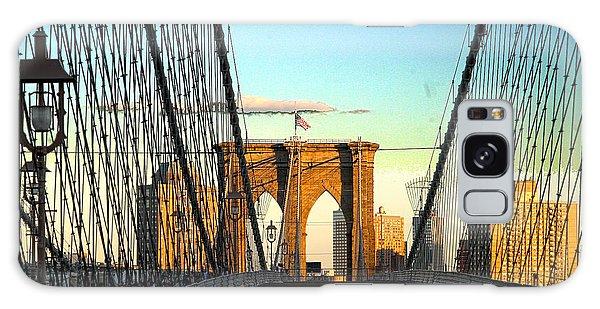 Galaxy Case - Brooklynbridge by Frank Savarese