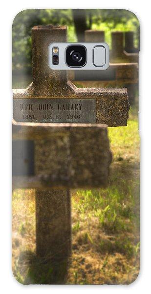 Sacred Heart Galaxy Case - Brother John by Ricky Barnard
