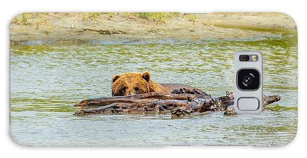 Brown Bear In Alaska Galaxy Case