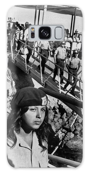 1972 Galaxy Case - Brown Berets Leave Catalina by Underwood Archives