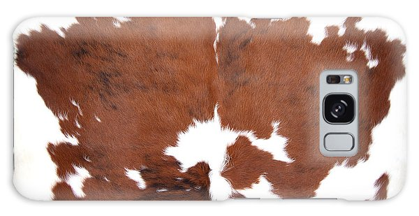 Brown Cowhide Galaxy Case