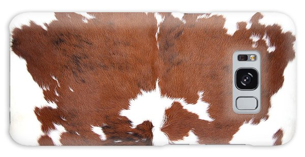 Brown Cowhide Galaxy Case by Gunter Nezhoda