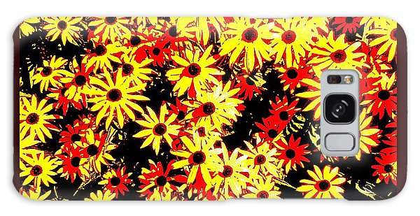 Brown Eyed Susans I Galaxy Case