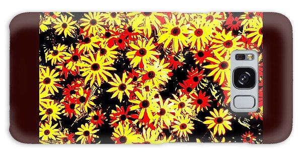Brown Eyed Susans I Galaxy Case by Peter Gumaer Ogden