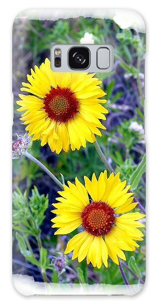 Brown- Eyed Susans Galaxy Case by Will Borden