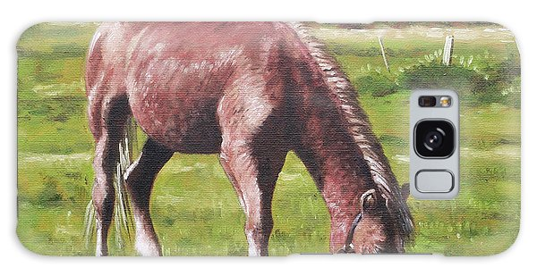 Brown Horse By Stables Galaxy Case